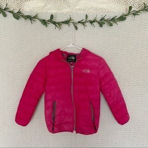 The North Face Summit Series Puffer Coat In Pink